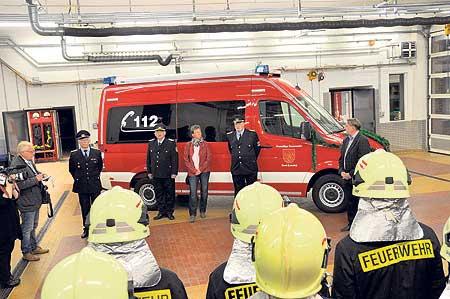 Neueste Technik für die Forster Feuerwehr