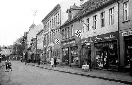 Spremberg: Polen zündeten das Kaufhaus an