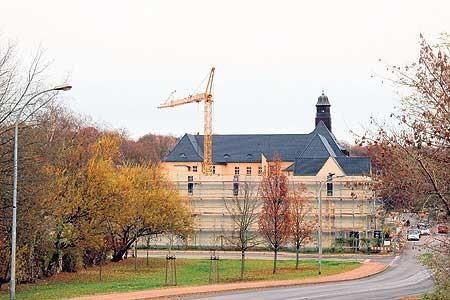 Spremberg: Schulturnhalle wächst weiter
