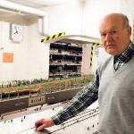Cottbuser Bahnhofstraße: Eisenbahner zum Training zu Gast