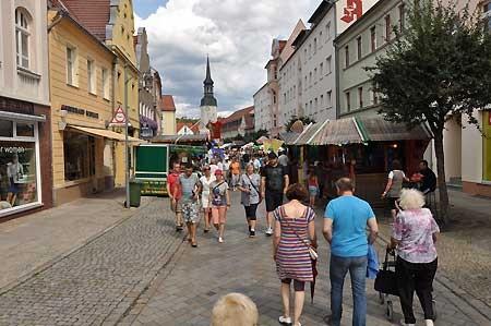 Vier Sonntage verkaufsoffen in Spremberg