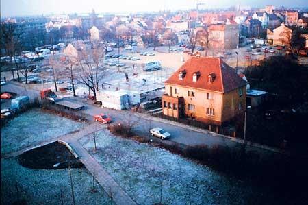 Senftenberg: Einst Parkplatz, heute Center