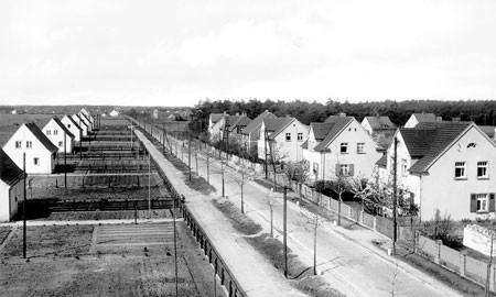 Senftenberg: Als die Häuser verlost wurden