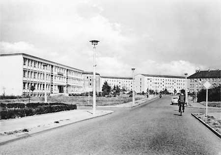 Senftenberg: Einst Schule, heute Discounter