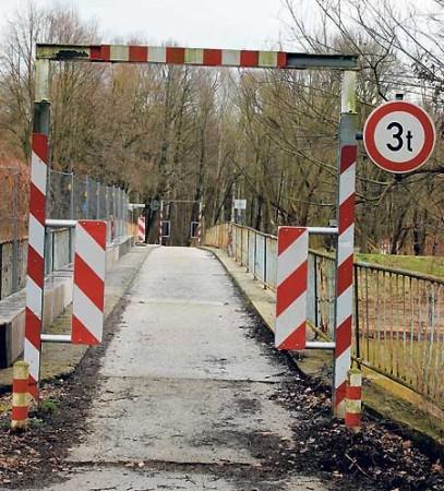 Spremberger Brücken und Stege sind marode