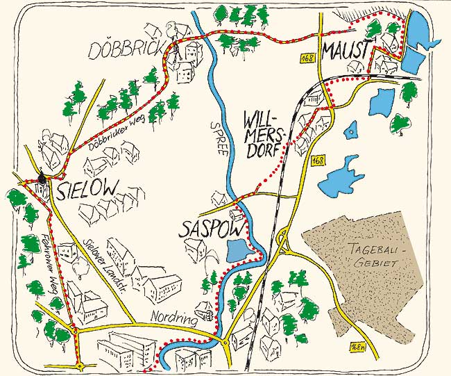 Radeln & Rasten: Der nahe grüne Norden