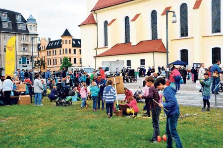 Interkulturelles Stadtpicknick in Forst am 4.5.