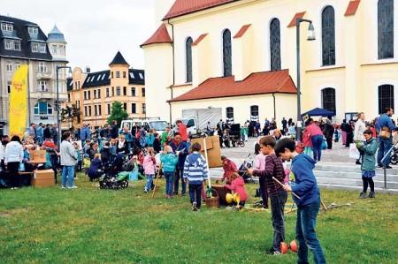 Interkulturelles Stadtpicknick in Forst am 4.5.