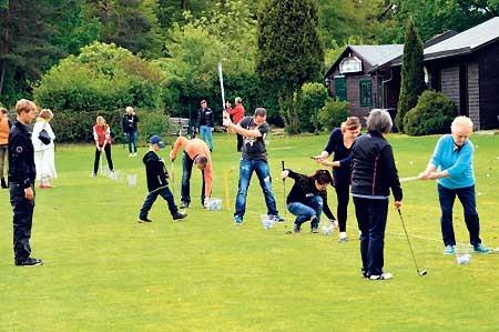 Golf: Sport für Jedermann lockt zu den Löchern