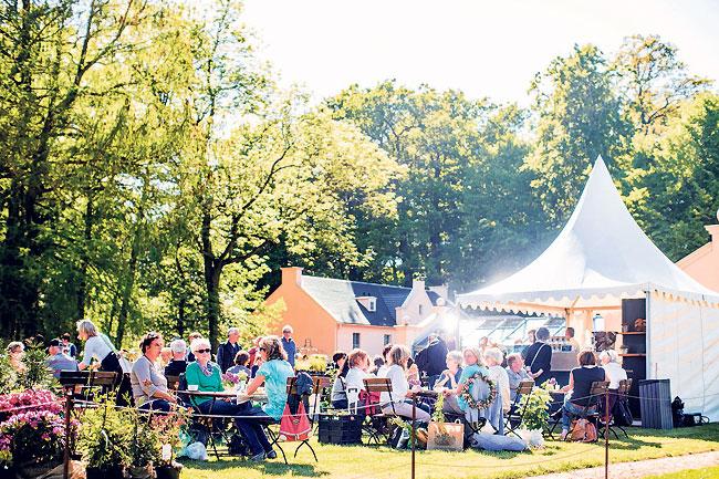 Großes Gartenfestival am 21.5. in Branitz