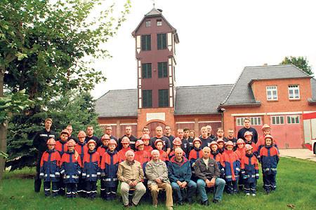 Jubiläumsfeier der Ströbitzer Feuerwehr am 28.5.