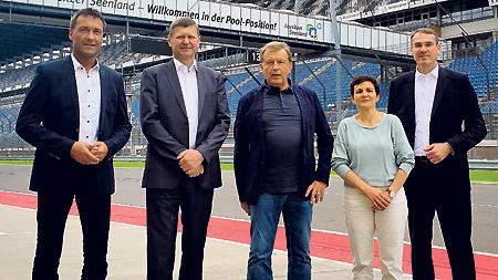 Tourismusverband Lausitzer Seenland wirbt  für die Urlaubsregion