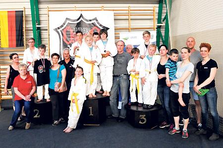 Spremberger Sakura erkämpfen zehn Medaillen