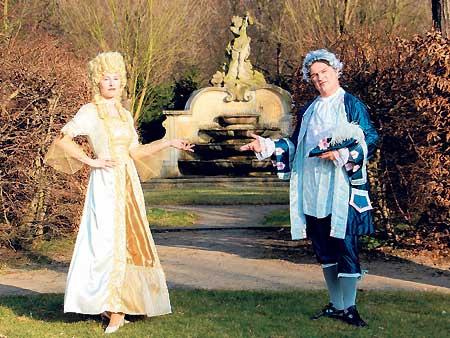 Barocke Verführung im Schlosspark am 11. und 12.6.