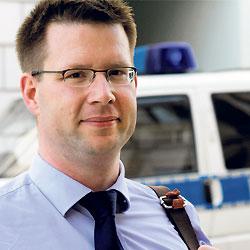 SPD-Kandidat Ingo Schuster will frischen Wind in die Stadt bringen Foto: Jan ...
