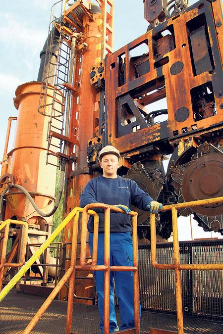 Tagebau Welzow-Süd: Dichtwand-Bauer vollziehen den Lückenschluss
