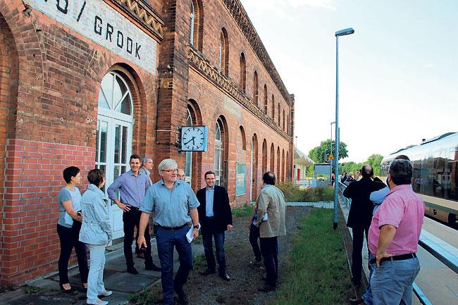Spremberger Bahnhof soll neu genutzt werden