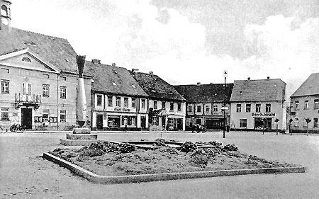 Senftenberg: Die Bombe auf dem Altmarkt