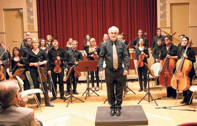 Erstaunt, dass es kein Orchester gab | Abschiedskonzert  von Prof. Dr. Tibor Istvánffy am 9.7 um 19.30 Uhr