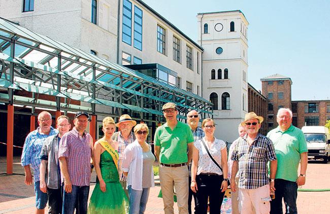 160820_Delegationsgruppe_Rathaus_Guben