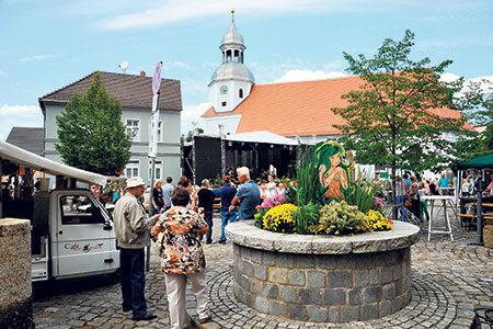 Drebkau feiert an diesem Wochenende (3.9 und 4.9.2016) das 11. Brunnenfest