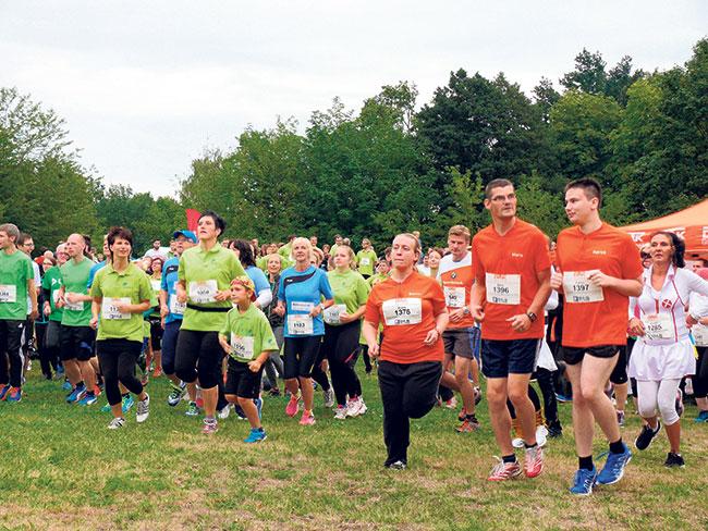 Cottbus: Erst rennen, dann feiern