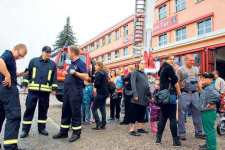 Senftenberger Feuerwehr lädt zum Tag der offenen Tür, am 10.9 ein