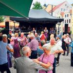 Oktoberfest auf dem Cottbuser Altmarkt am 14. Oktober
