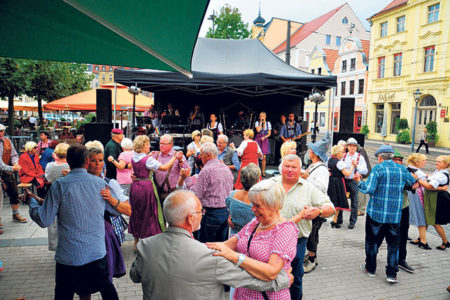 Cottbus: O'zapft auf dem Altmarkt, am 18. September 2016