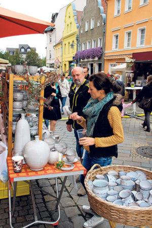 Spremberger brechen ins Mittelalter auf am letzten September Wochenende