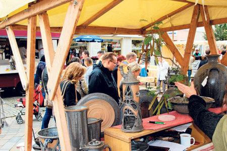 Töpfer und Händler - In Spremberg steigt das große Herbstfest am 24./25.9