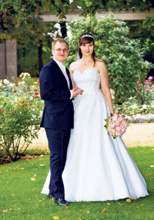 Forster Rosengarten als Hochzeitskulisse