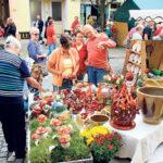 Ein Töpfermarkt bei Kaiserwetter