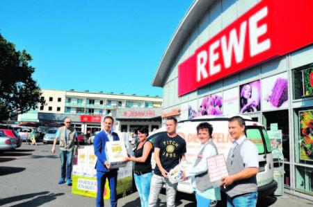 REWE-Kunden sorgen für Bio-Boom in Cottbus