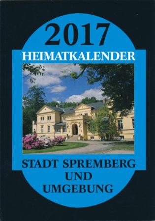 Spremberger Heimatkalender 2017 ist erschienen