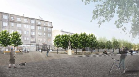 Neuer Oberkirchplatz nimmt Gestalt an