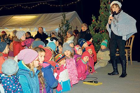 Der Hexenbergverein hat auch in diesem Jahr eine tolle Parkweihnacht auf die Beine gestellt. Auf die Märchenaufführung freuen sich Groß und Klein Foto: Hexenbergverein