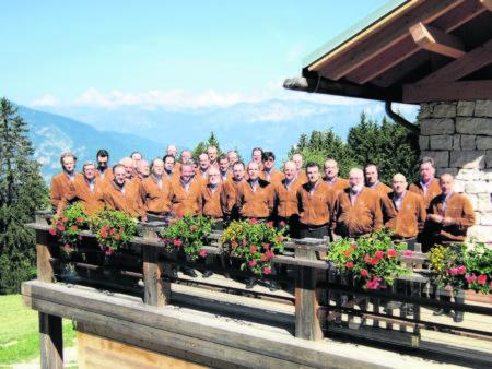 """Der Trientiner Chor wird am 1.12. in Cottbus bei der """"Musikschau der Berge"""" begeistern Foto: R. Maranza"""