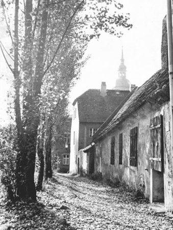 Alte Häuser waren baufällig