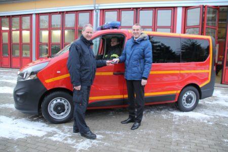 Neues Auto für die Feuerwehr