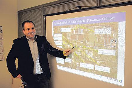 Industriepark wird Großbaustelle