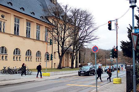 Verkehrschaos in Spremberg