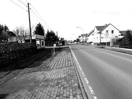 Jetzt freie Sicht bis Lauta-Dorf