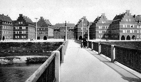 Forst: Erst um das Jahr 1920 bebaut