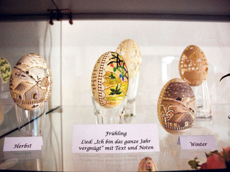 Guben: Eierei in der Dauerausstellung