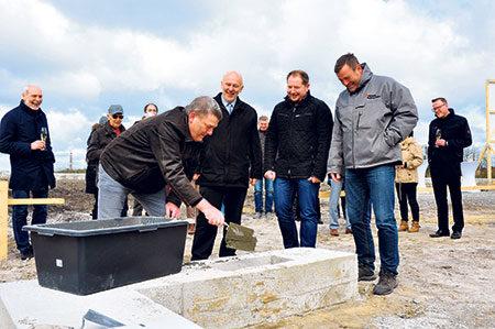 Großräschen: Grundstein fürs Almaeck ist gelegt