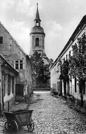 Senftenberg: Wo einst der Schulweg verlief