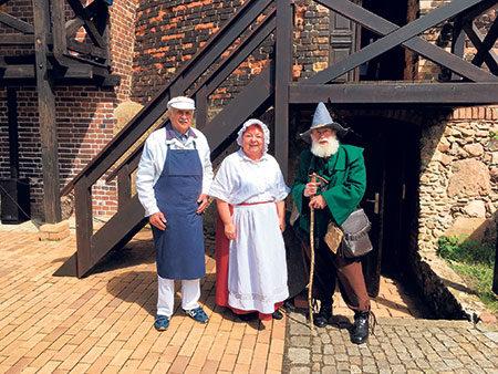 Dörrwalder Mühle: Fanfaren, Theater, Knusperbrot
