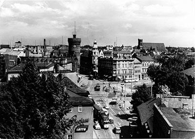 Altes Cottbus: Der Brandenburger Platz - ehemals Kaiser Wilhelm-Platz