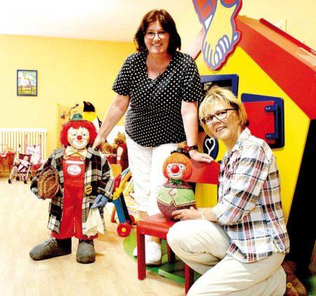 Frohsinn für das Ronald McDonald Haus in Cottbus